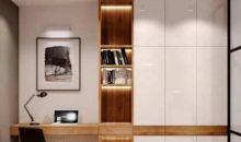 Biar Produktif, Tiru Deh Ide Desain Interior Kantor di Dalam Rumah Ini!